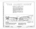 Gonzalez-Alvarez House, 14 Saint Francis Street, Saint Augustine, St. Johns County, FL HABS FLA,55-SAUG,11- (sheet 1 of 14).png