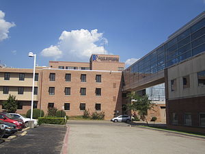 Longview, Texas - Good Shepherd Medical Center is located on U.S. Highway 80 in north Longview.