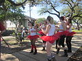 Goodchildren Easter 2012 S Roch Av Cherry Bombs Dance 5.JPG