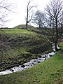 Goodman's Gill and the motte - geograph.org.uk - 1802298.jpg