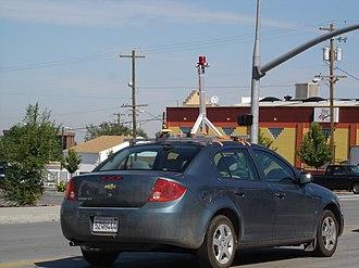 Chevrolet Cobalt - Image: Google Street View Car in Salt Lake City