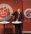 Goran persson swedish pm election rally 2006-sept-05 gothenburg speaking img5.jpg