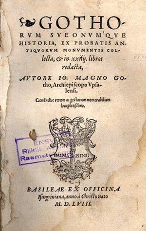 Johannes Magnus - Gothorum Sveonumque Historia