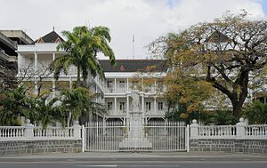 Government Houses of the British Empire and Commonwealth - Government House, Port Louis, Mauritius