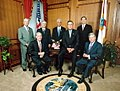 Governor Jeb Bush and cabinet - Tallahassee, Florida (2002).jpg
