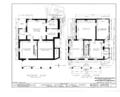 Governor Robert W. Furnas House, Sixth Street, Brownville, Nemaha County, NE HABS NEB,64-BROVI,2- (sheet 1 of 3).png