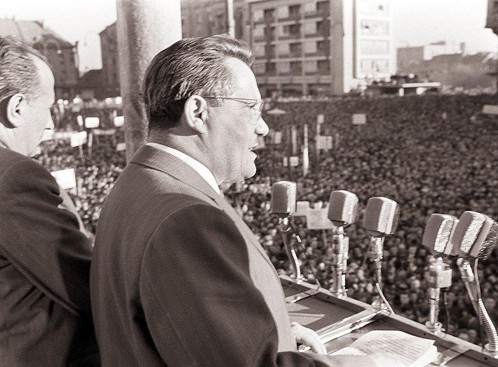 Govor Edvarda Kardelja na zborovanju ob 40-letnici ZKJ in SKOJ v Mariboru 1959