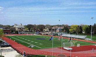 Grosse Pointe South High School - Grosse Pointe South athletic field.