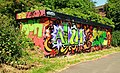 Graffiti, Lagan towpath, Belfast - geograph.org.uk - 1337643.jpg