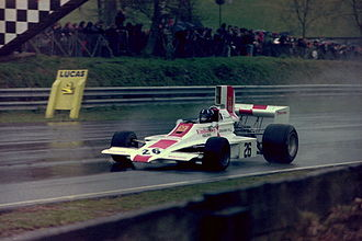 Lola T370 - Graham Hill at the 1974 Race of Champions.