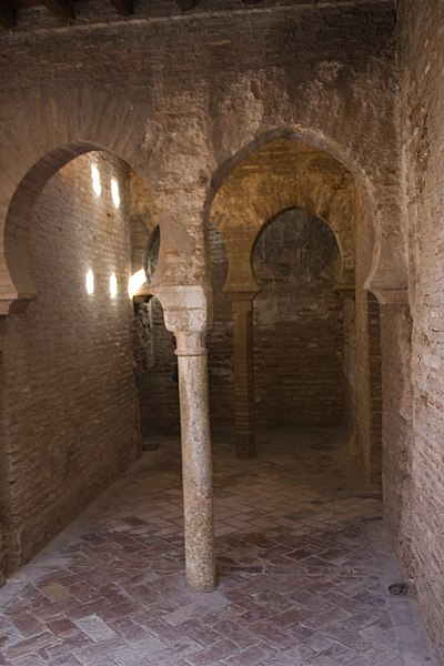 File granada la alhambra 28 ba os del palacio comares - Banos arabes palacio de comares ...