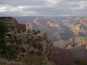 Southend of the Grand Canyon with Plateau Poin...