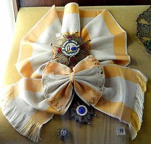 Order of Isabella the Catholic - Image: Grand Cross of the Order of Isabella the Catholic (Spain) Memorial JK Brasilia DSC00387