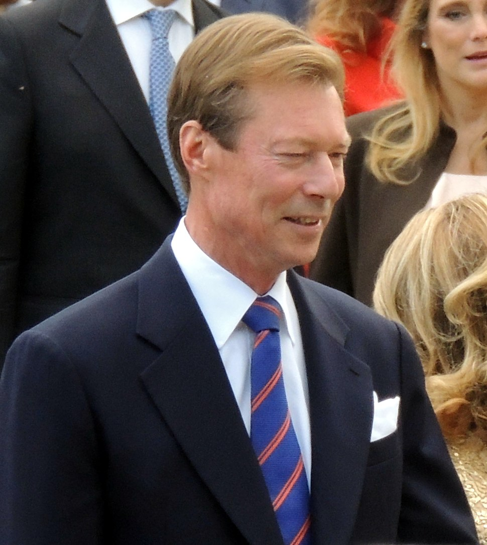 Grand Duke Luxembourg Royal Wedding 2012