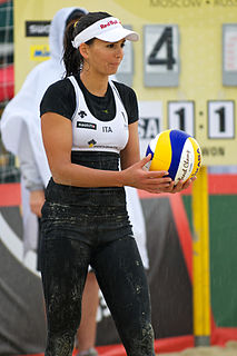 Marta Menegatti Italian beach volleyball player