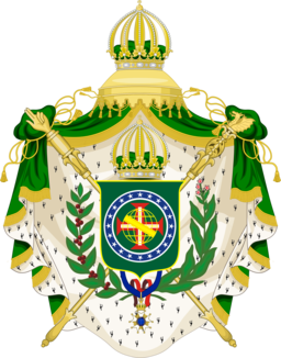 Grand imperial arms of Brazil
