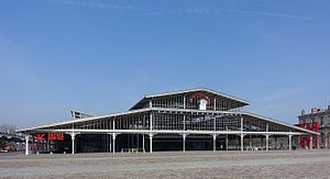 Grande halle de la Villette - Grande halle de la Villette, 2016