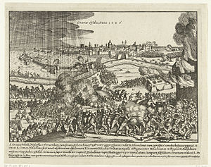 Siege of Grave (1586) - Image: Grave 1586 1