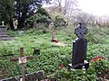 Graveyard and ruined church - geograph.org.uk - 626474.jpg