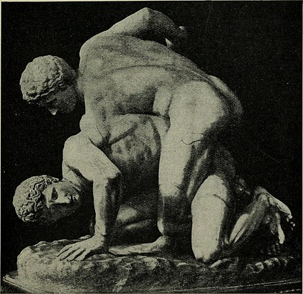 Plato was a wrestler Greek athletic sports and festivals (1910) (14767984254).jpg
