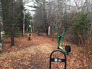 Chester Basin, Nova Scotia - Green Gym located in Chester Basin.