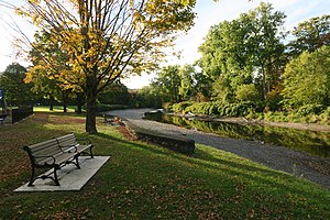 Green River (Deerfield River) - The Green River at the Green River Park