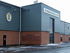 St Mirren Park - Image: Greenhill Road geograph.org.uk 1160158