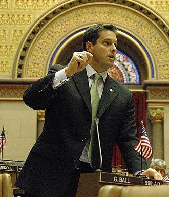 Greg Ball (politician) - Image: Gregball 2