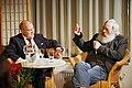 Gregor Gysi im Gespräch mit Harry Rowohlt am 9. Januar in Hannover (8366352151).jpg