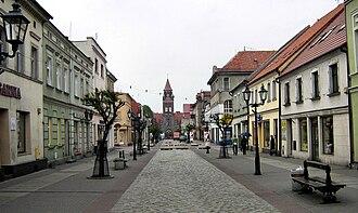Grodzisk Wielkopolski - Image: Grodzisk Wielkopolski ul. Szeroka