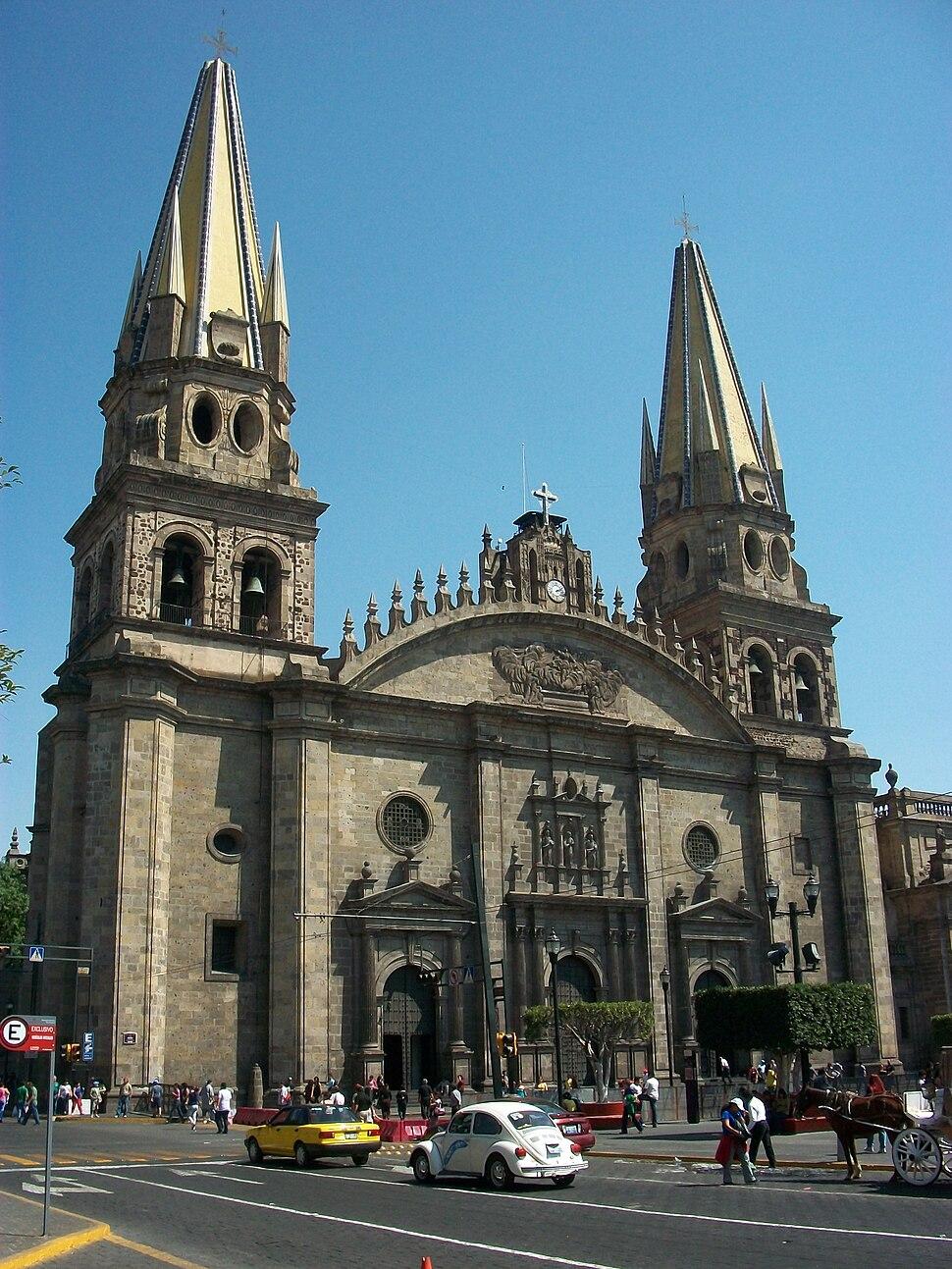 Guadalajara´s Cathedral, Jalisco, Mexico