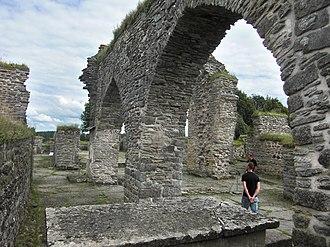 Gudhem Abbey - Image: Gudhems klosterruin 2516