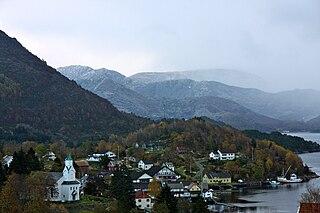 Gulen Municipality in Vestland, Norway