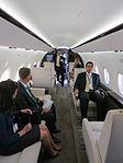 Gulfstream G280 cabin with passengers.JPG