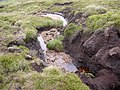 Gully in the peat, Birks Moss, Marsden - geograph.org.uk - 480844.jpg