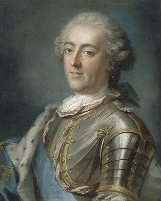 Gustaf Lundberg - Image: Gustaf Lundberg, Louis XV (fin des années 1730)