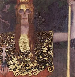 Pallas Athena by Klimt