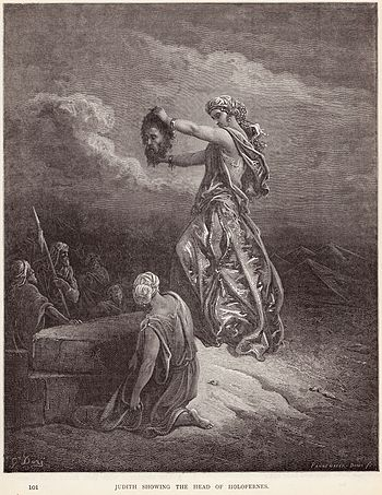 "English: ""Judith Showing the Head of Holo..."
