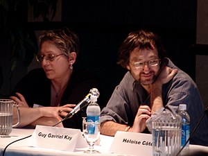 Guy Gavriel Kay - Kay (right) in 2006