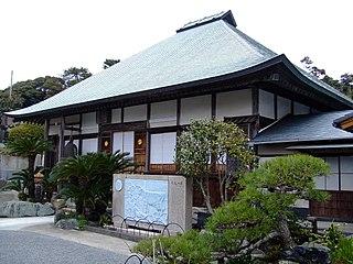 Buddhist temple in Shizuoka Prefecture, Japan