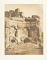 Hémicycle de l'enceinte des Temples, à Baâlbek MET DP131970.jpg