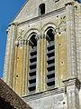 Hérouville (95), église Saint-Clair, clocher, détail.jpg