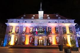 l'hôtel de Ville de Belfort, place d'Armes
