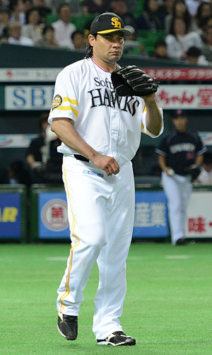 Vicente Padilla - Padilla with the Fukuoka SoftBank Hawks