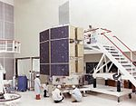 HEAO-3 Assembling the High Energy Astronomy Observatory 8005697.jpg