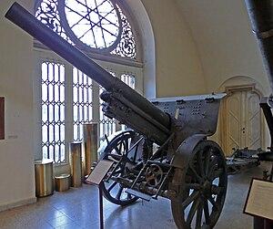 10.4 cm Feldkanone M. 15 - 10.4 cm Feldkanone M. 15 at the Heeresgeschichtliches Museum Wien.