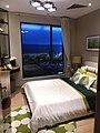 HK 油麻地 Yau Ma Tei 碧桂園 Country Garden Sales Office Wing On Kln Centre Garden Dec 2018 SSG Showflat bedroom n glass window.jpg