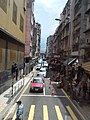 HK Bus 101 view 西環 Sai Wan 皇后大道西 Queen's Road West August 2018 SSG 14 東邊街 Eastern Street.jpg