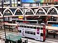 HK CWB Yee Wo Street round shape footbridge Causeway Bay Station Tram Jan-2013.JPG