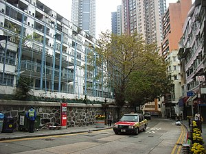 HK SW Hollywood Road Polic Qtrs w1.JPG